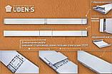Теплый плинтус удэн с инфракрасный металлокерамический (1.4-2 м.кв) 100Вт. UDEN-100, фото 3