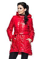 Куртка Нелли - красный: 46,48,50,52