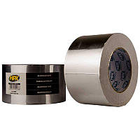Высокотемпературная алюминиевая лента 40 микрон НРХ 75 мм х 50 м