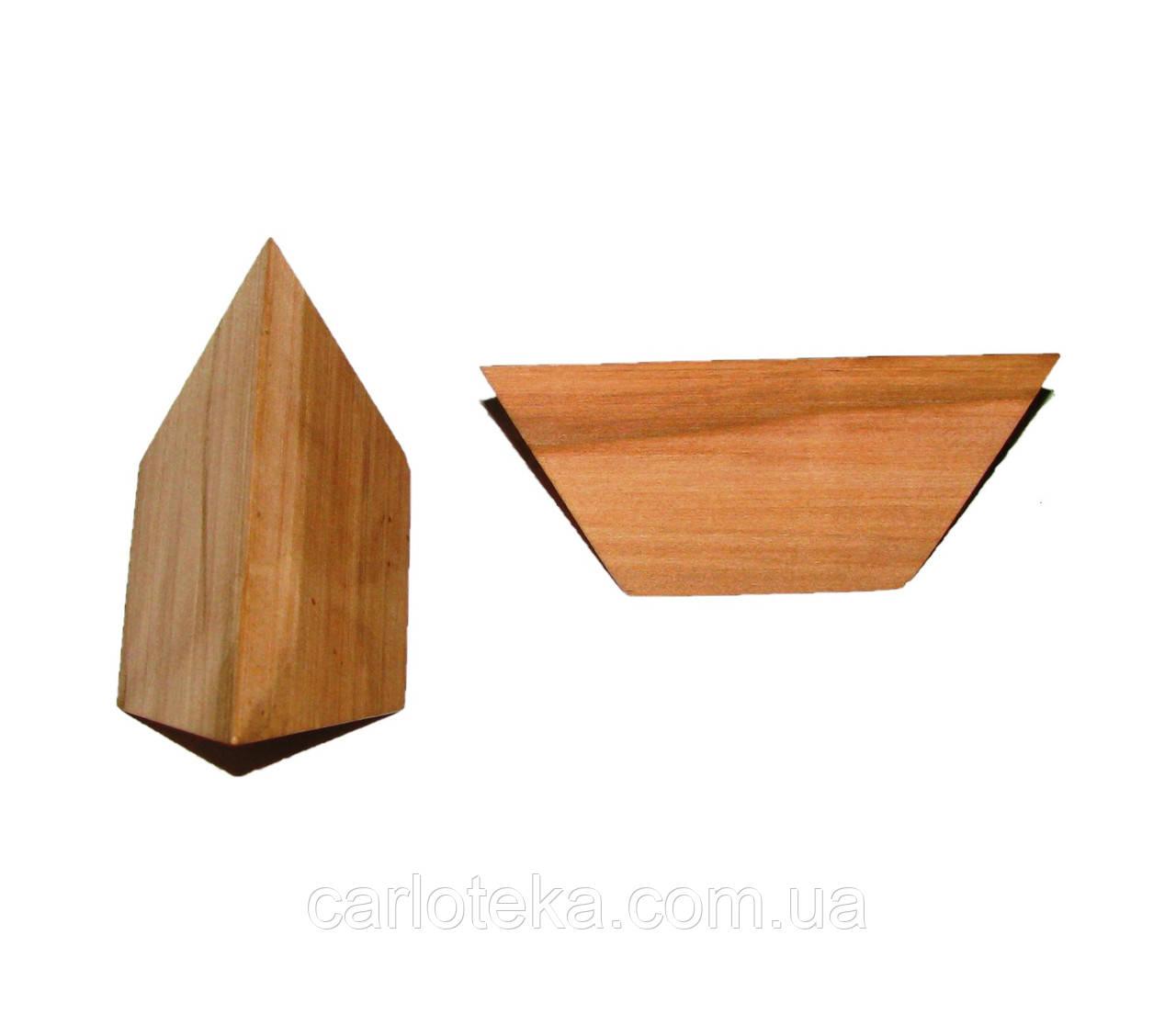 """Деревянная головоломка """"Пирамида"""""""