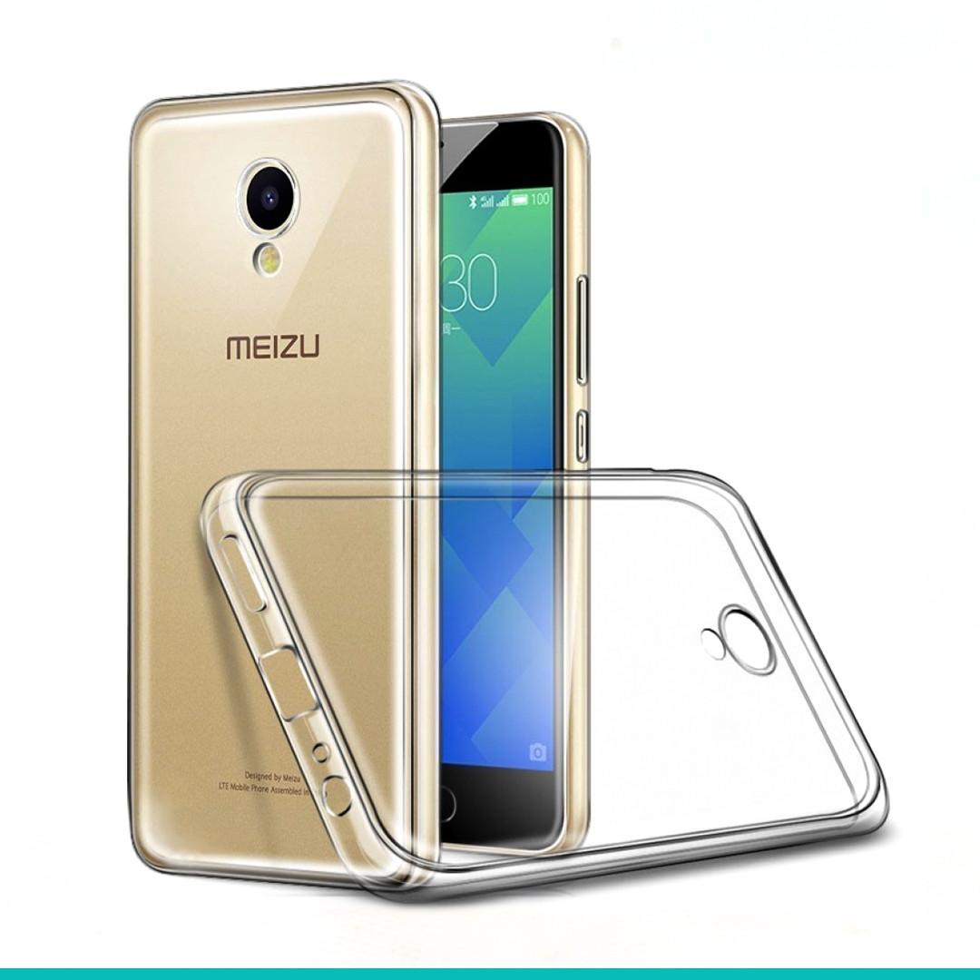 Силикон прозрачный Meizu M5
