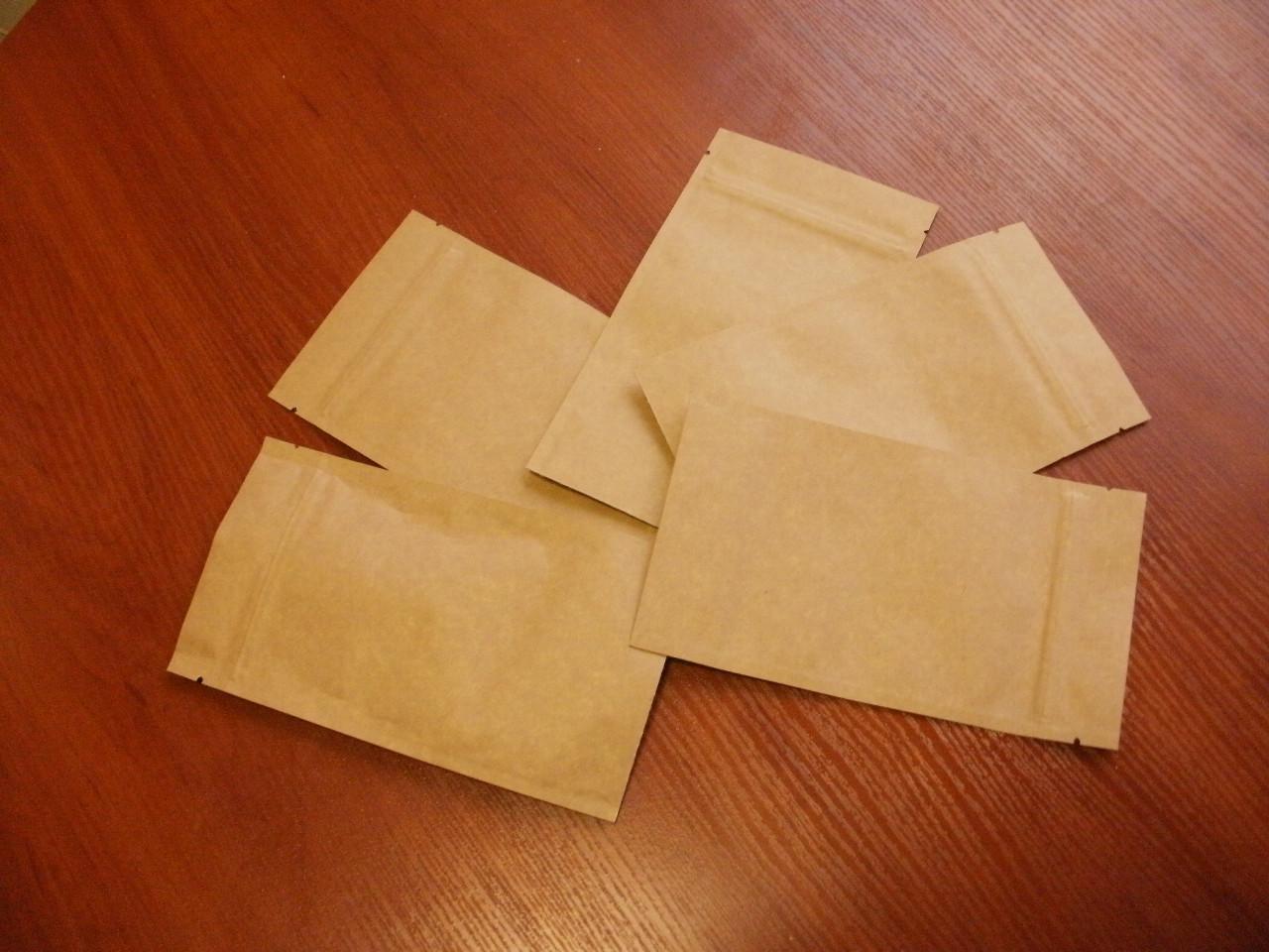 """Крафт-пакеты Дой-пак фольгированные внутри, застежка зип-лок/струна, упаковка чая,кофе,конфет - Чайная лавка """"Кавай"""" в Бердянске"""