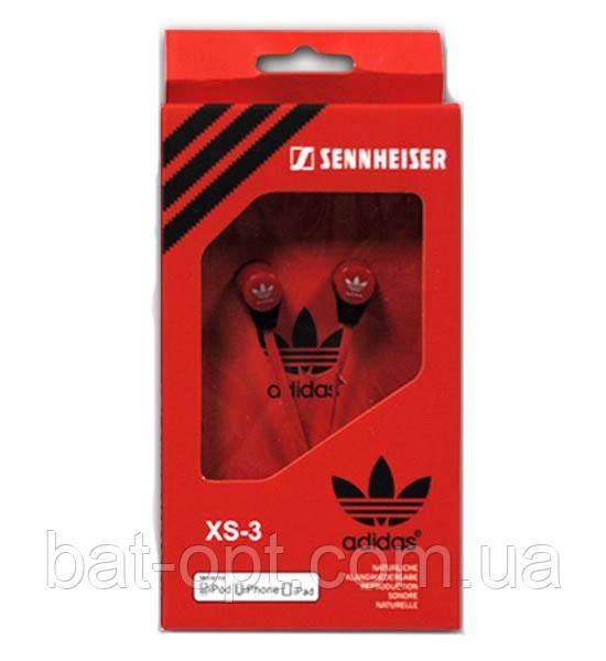 Наушники Adidas XS-3 красные