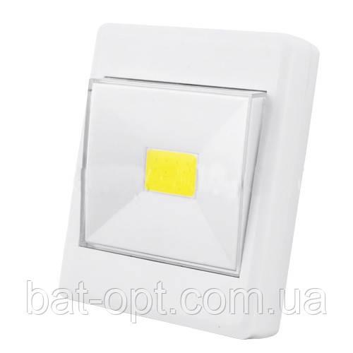 Подсветка в виде выключателя KL1701/305-COB, магнит, липучка, 4хAAA