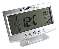 Часы электронные KD-1819 (будильник/дата/номер недели/температура/7языков)