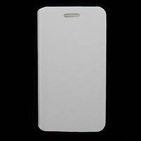 Чехол книжка для Samsung G350E Galaxy Star Advance боковой ORIGINAL Белый