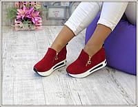 Женские кроссовки на платформе, фото 1