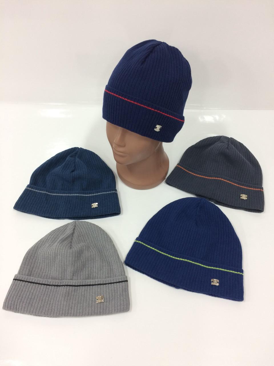 Купить Детские вязаные шапки только оптом для мальчиков b9b635a1367e2