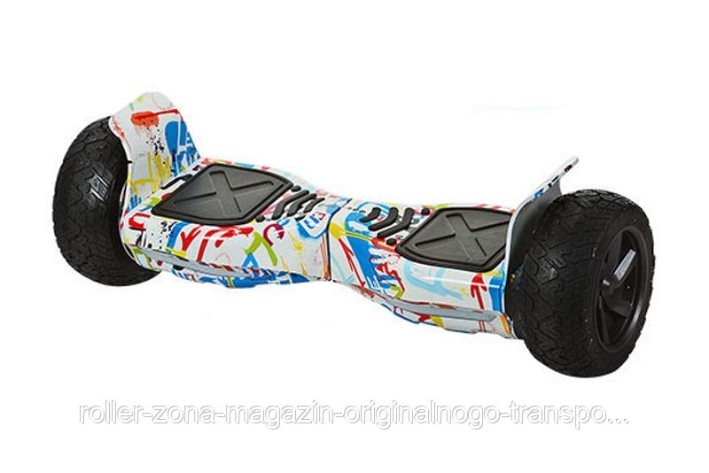 "Гироскутер RZ-Board KIWANO KO-X Pro 8,5"" Дюймов Приложение и Самобаланс - Граффити, фото 1"
