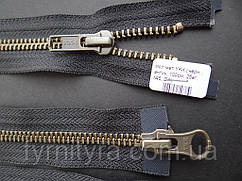 YKK металл антик №5DA 2бег. 70cm,75cm,80cm,100cm