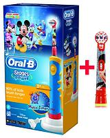 Электрическая зубная щетка Oral-B Braun D10.513K, 2 насадки , фото 1