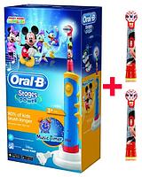 Электрическая зубная щетка Oral-B Braun D10.513K, 3 насадки , фото 1
