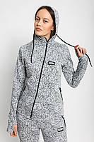 Толстовка женская серая FLOW HOOD Urban Planet (толстовки, жіноча кофта, одежда женская, одяг, худи)