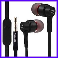 Наушники Remax RM-535 black с микрофоном