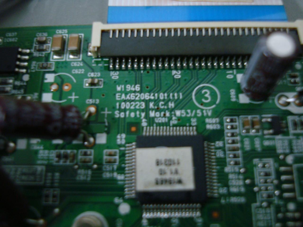 Запчасти от монитора LG Flatron W1946S-BF (Main Board Eax62064101)