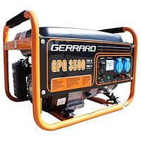 Бензогенератор, Генератор, Электрогенератор. Бензиновый Генератор, GERRARD GPG3500, ДЖЕРАРЖ 3500.