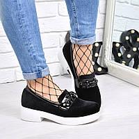 Туфли лоферы Velure 4187, балетки женские