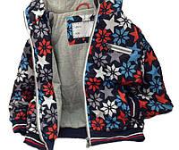 Детская Куртка-Ветровка мальчику, 79RAZNOTSVET 98, 104, 116, 122, 128 см Синий с принтом