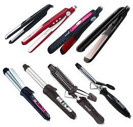 Плойки, утюжки и стайлеры для волос