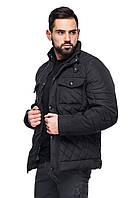 Мужская стеганная деми - куртка