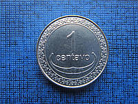 Монета 1 сентаво Восточный Тимор 2003 фауна наутилус