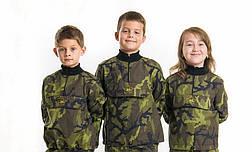 Детская куртка камуфляж Лес рост:128 см., фото 2