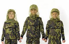 Детская куртка камуфляж Лес рост:128 см., фото 3