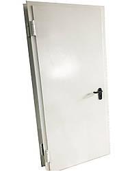 Дверь металлическая противопожарная EI 30, одностворчатая 2100х1000 мм