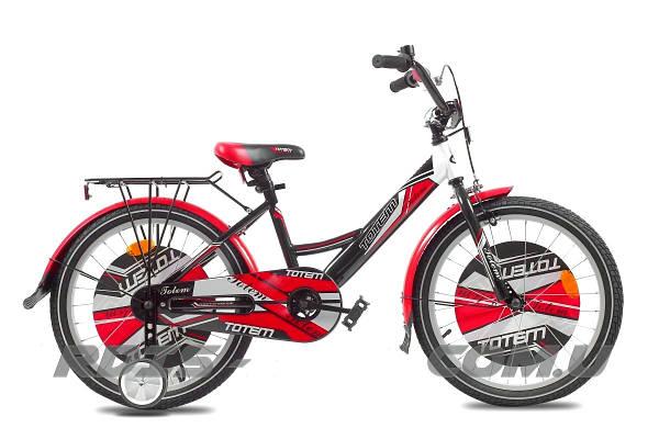 """Детский велосипед TOTEM ACTIVE 20""""  Черный/Красный"""