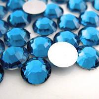 Недорогие стразы Caprie Blue ss16 (4мм) Цена за 100шт.