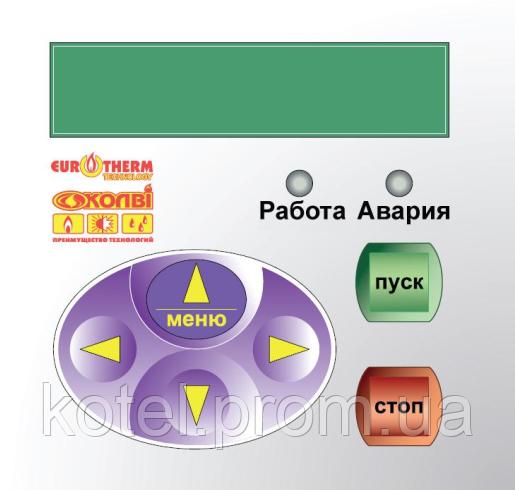 Панель управления пульта МК-2 газового котла Колви 200