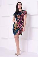 """Модное женское платье """"Хамелион"""" с паетками. S,M."""