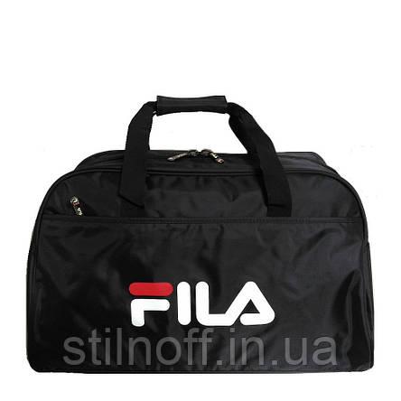 715482898cc4 Сумка спортивная Fila GS1304 средняя черная: продажа, цена в ...