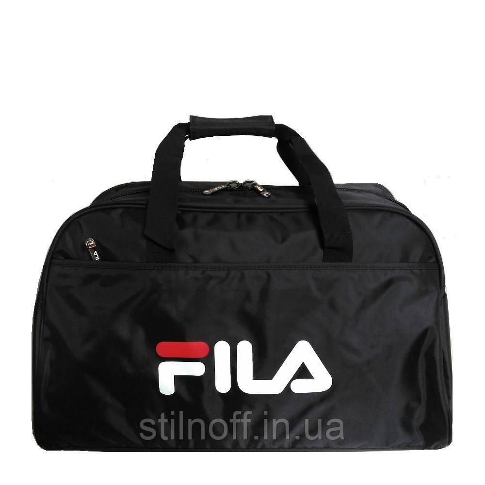 a2a3f19be099 Сумка спортивная Fila GS1304 средняя черная - Интернет-магазин женской и мужской  обуви, одежды