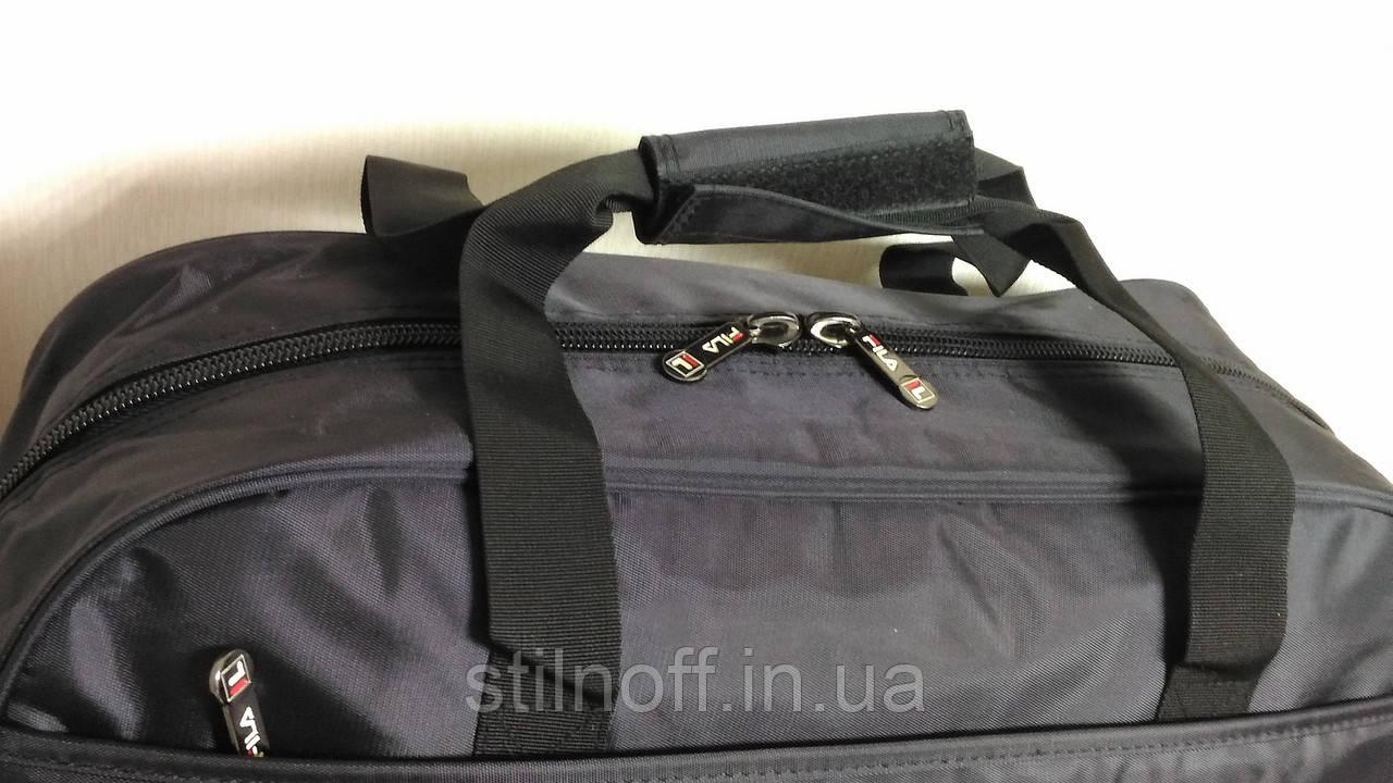 31b386347dfc Сумка спортивная Fila GS1304 средняя черная, цена 1 100 грн., купить Вараш  — Prom.ua (ID#649383148)