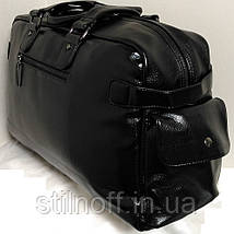 11a0b5177dce Дорожная сумка-саквояж Samsonite GS один карман большая эко кожа, фото 3