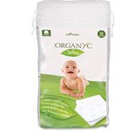 Органические ватные диски детские квадратные Corman