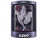 Зажигалка бензиновая Zippo Marilyn Monroe №4220-4 в подарочной коробке