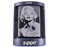 Зажигалка бензиновая Zippo Marilyn Monroe №4222-5 в подарочной упаковке