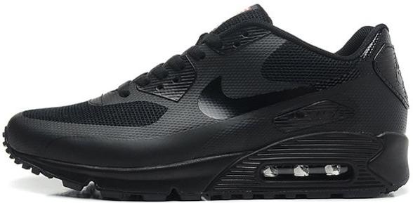 Nike Air Max 90 Hyperfuse Black Independence Day (USA)   мужские кроссовки   черные 1b35447ff1c