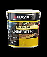 Лак фасадный «AQUAPROTECT» Байрис «Bayris» 2,5л.