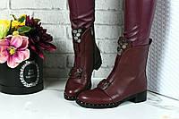 Ботинки (деми на легком флисе), эко кожа + (2 цвета)