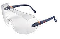 Очки защитные 3М 2800 (поверх корректирующих, прозрачные)