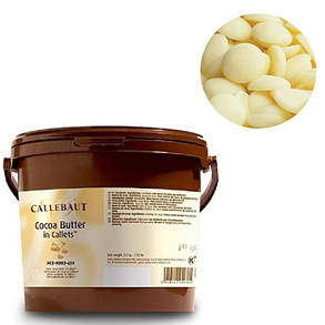 Barry Callebaut Cocoa Butter Масло - какао у формі дисків, 3 кг, фото 2