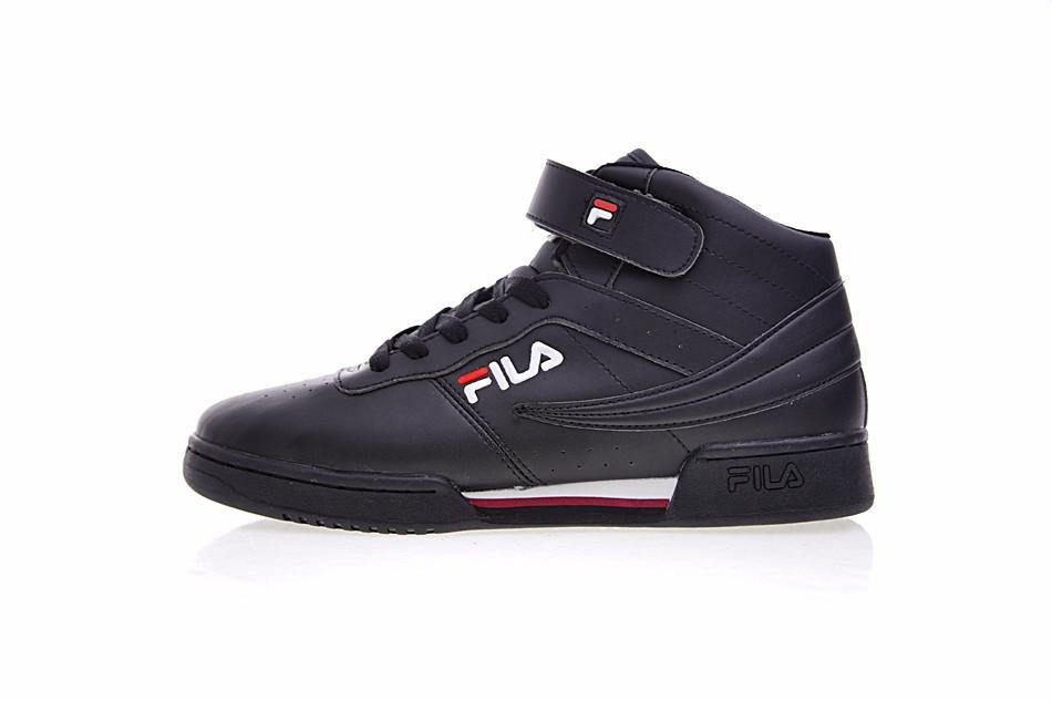 89212e4d Мужские кроссовки Fila Original Fitness Premium черные высокие 1375 -  Компания