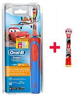 Детская электрическая зубная щетка Oral-B D12. 513 (для мальчика) 2 насадки в комплекте