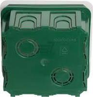 Распределительная коробка в кирпич(бетон) 100*100*50