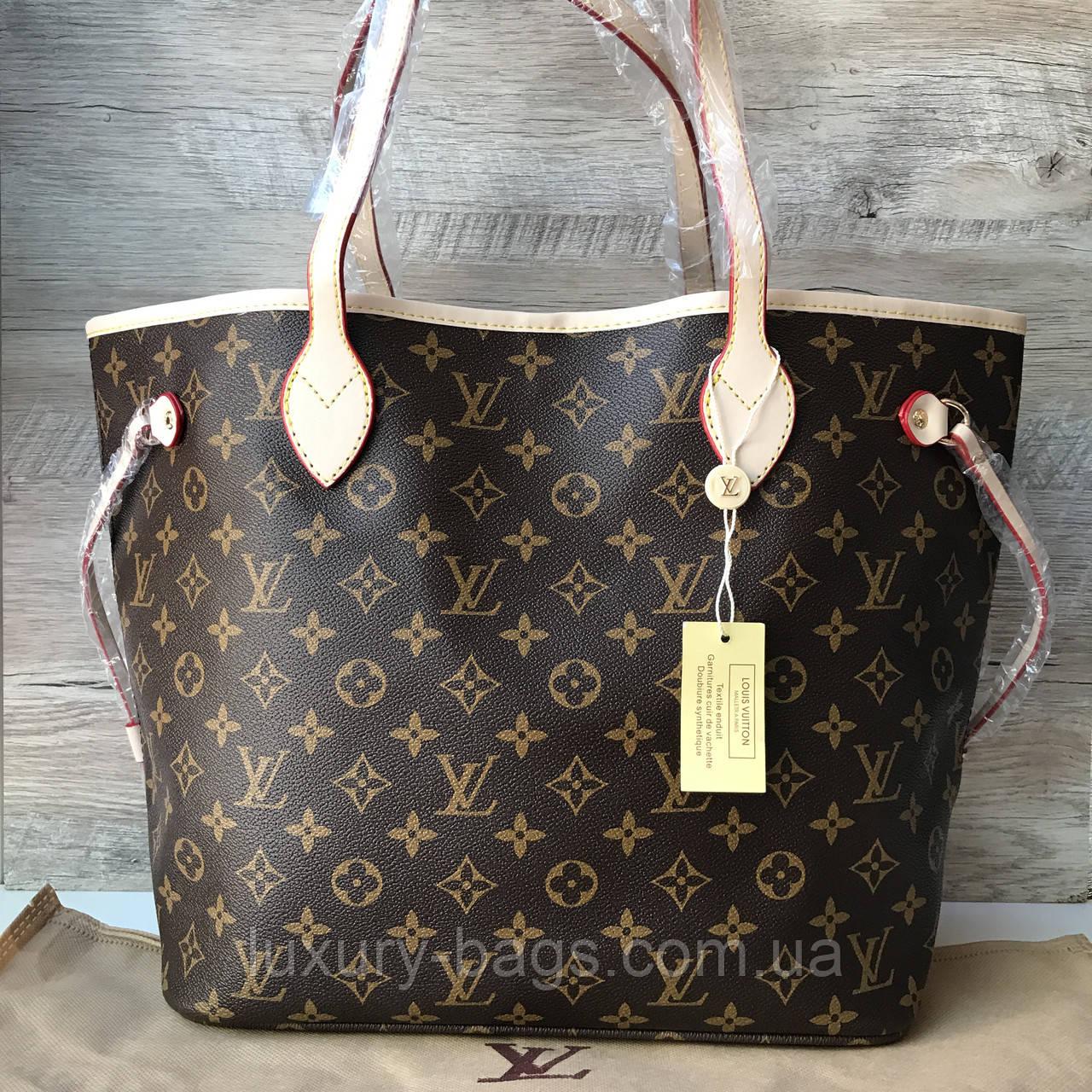 c6a4571576c4 Женская сумка Louis Vuitton neverfull Луи Виттон неверфул - BaGsInTrend в  Одессе