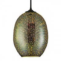 """Декоративный 3D светильник """"QUANTUM"""" Horoz NEW E27 овал , фото 1"""