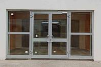 Алюминиевые входные двери.